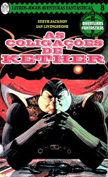 As coligações de Kether  by  Steve   Jackson