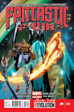 Fantastic Four #3 (Marvel NOW!) Matt Fraction