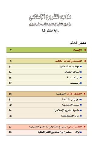 ملامح المشروع الإسلامي حسن أحمد الدقي