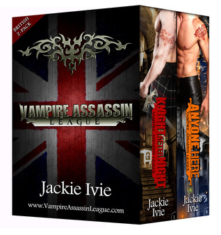 British 2-Pack (Vampire Assassin League Books #1 and #9)  by  Jackie Ivie