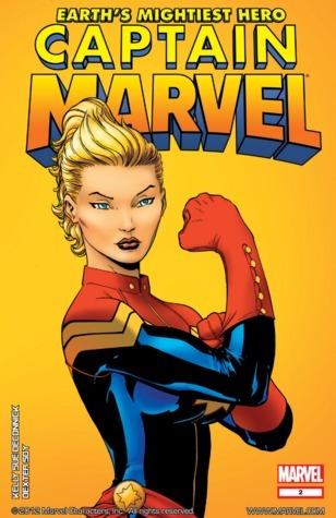 Captain Marvel #2 (Captain Marvel Vol. 7, #2)  by  Kelly Sue DeConnick