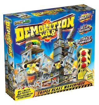 Demolition Lab: Triple Blast Warehouse  by  Smart Lab Toys Becker & Mayer