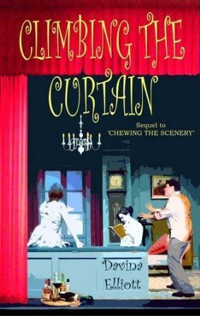 Climbing The Curtain (Judith Gold, #2)  by  Davina Elliott