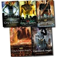Mortal Instruments Book Set (The Mortal Instruments, #1-5)