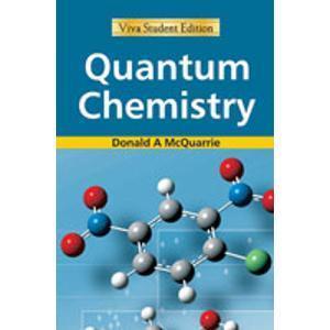 Quantum Chemistry Donald A. McQuarrie