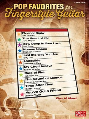 Pop Favorites for Fingerstyle Guitar  by  Hal Leonard Publishing Company