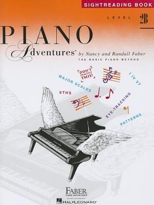 Level 2B - Sightreading Book: Piano Adventures  by  Nancy Faber