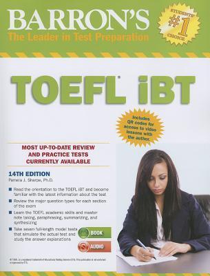 Barrons TOEFL Ibt with Audio Compact Discs, 14th Edition Pamela Sharpe