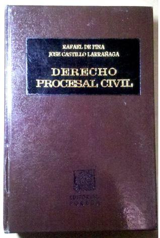 Derecho Procesal Civil  by  Rafael De Pina Vara