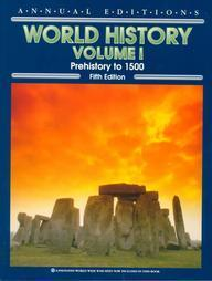 World History (Annual Editions:  World History Vol 1)  by  David McComb