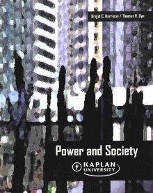 Power and Society Brigid Callahan Harrison