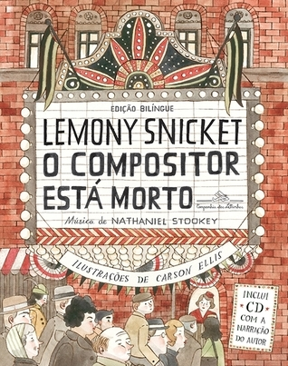 O compositor está morto  by  Lemony Snicket
