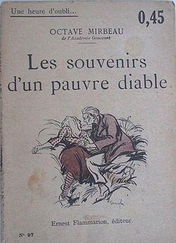 les souvenirs dun pauvre diable  by  Octave Mirbeau