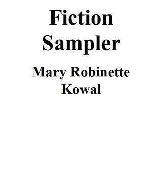 MRK Fiction Sampler Mary Robinette Kowal