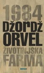 1984 / Životinjska farma  by  George Orwell
