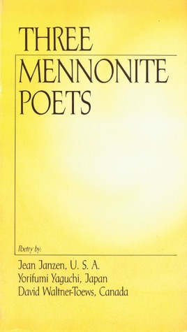 Three Mennonite Poets Jean Janzen