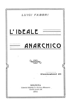 Lideale Anarchico Luigi Fabbri