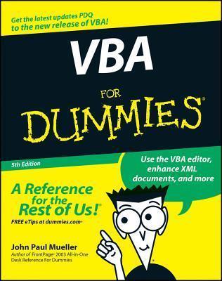 VBA For Dummies (For Dummies John Paul Mueller