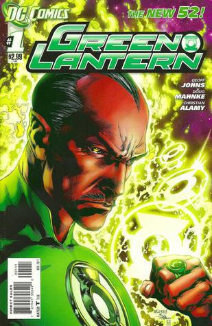 Green Lantern #1  by  Geoff Johns