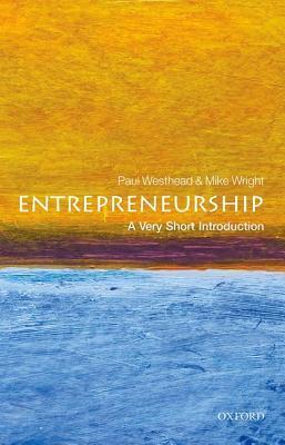 Entrepreneurship Paul Westhead
