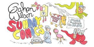 Gahan Wilson Sunday Comics  by  Gahan Wilson