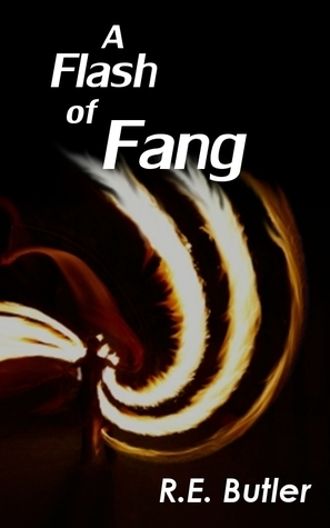 A Flash of Fang (Wiccan-Were-Bear, #2)  by  R.E. Butler