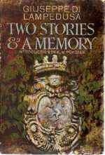 Two Stories and a Memory Giuseppe Tomasi di Lampedusa