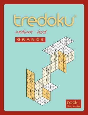 Tredoku Medium Hard Grande Book 1 Mindome Games