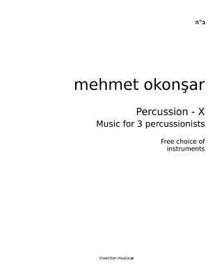 Percussion-X Mehmet Okonsar