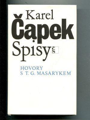 Hovory s T. G. Masarykem  by  Karel Čapek