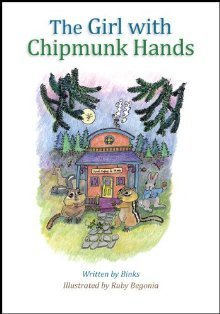 The Girl with Chipmunk Hands  by  Binks