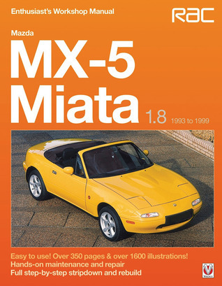 Mazda MX-5 Miata 1.8 1993 to 1999: Enthuasiast Workshop Manual  by  Rod Grainger