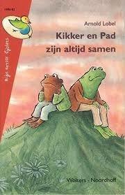 Kikker en Pad zijn altijd samen  by  Arnold Lobel