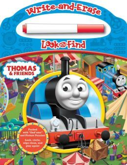 Thomas & Friends: Write-and-Erase Look & Find  by  Publications International Ltd.