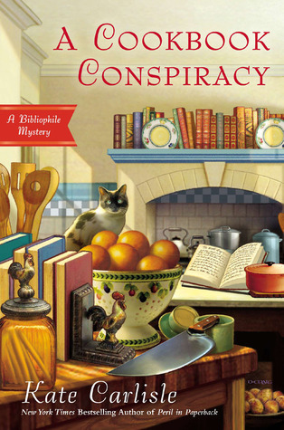 A Cookbook Conspiracy (A Bibliophile Mystery, #7)  by  Kate Carlisle