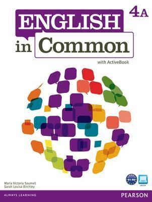 English in Common 4a Split: Student Book with Activebook and Workbook  by  Maria Victoria Saumell