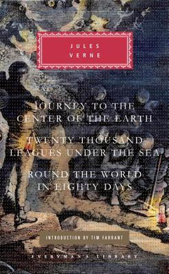 Three Novels: Journey to the Center of the Earth, Twenty Thousand Leagues Under the Sea, Round the World in Eighty Days  by  Jules Verne