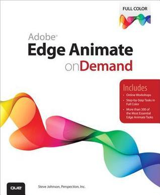 Adobe Edge Animate on Demand Steve                Johnson
