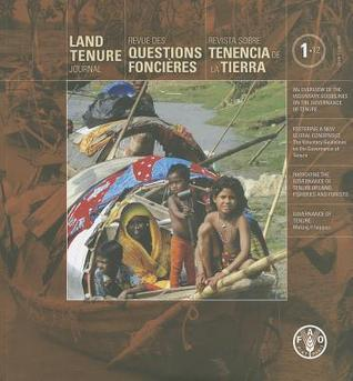 Land Tenure Journal  by  Food and Agriculture Organization of the United Nations