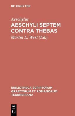 Septem Contra Thebas Aeschylus