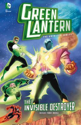 Green Lantern: The Invisible Destroyer Art Baltazar