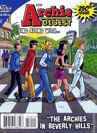 Archie Digest Sing Along With... The Archies in Beverly Hills #250 Hal Lifson