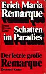 Schatten im Paradies : Roman  by  Erich Maria Remarque