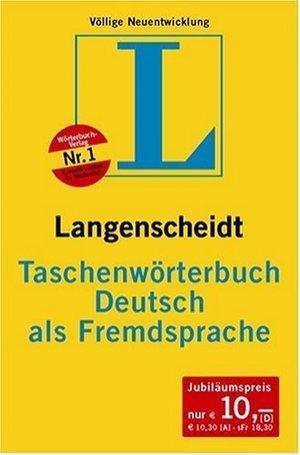 Langenscheidt Taschenwörterbuch Deutsch als Fremdsprache Langenscheidt