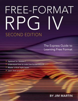 Free-Format RPG IV  by  Jim Martin