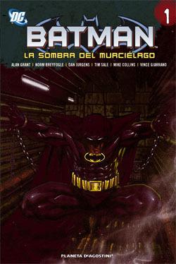 Batman: La sombra del Murciélago tomo 1 Alan Grant