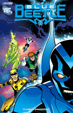 Universo DC: Blue Beetle  by  Keith Giffen