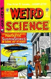 Weird Science Annual, #1  by  E.C. staff