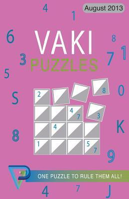 Vaki Puzzles August 2013  by  R M Cullen