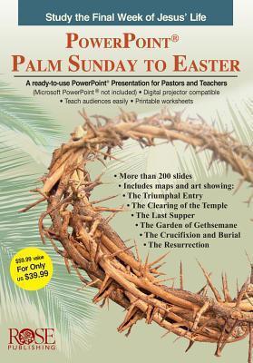 Palm Sunday To Easter Rose Publishing